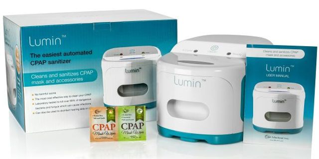 3B Lumin CPAP sanitizer