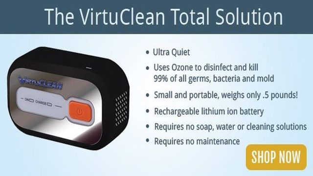 Virtuclean cpap cleaner